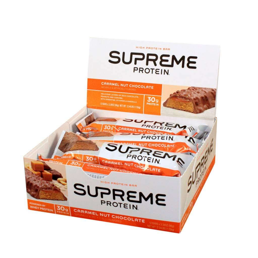 Supreme Protein Caramel Nut Chocolate (72count)