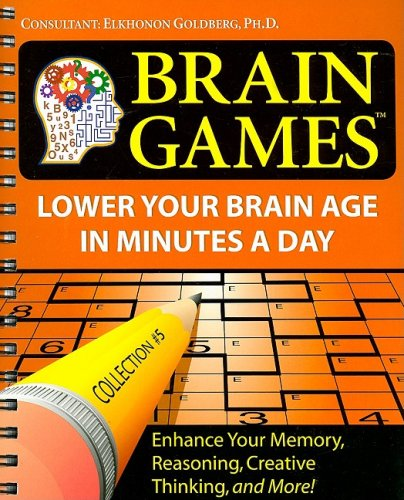 Brain Games Collection 5 Lower Your Brain Age In Minutes A Day