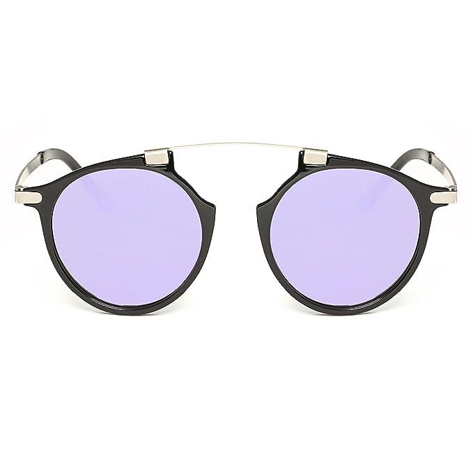 Amazon.com: eyepster ligero lentes de espejo futurista de un ...