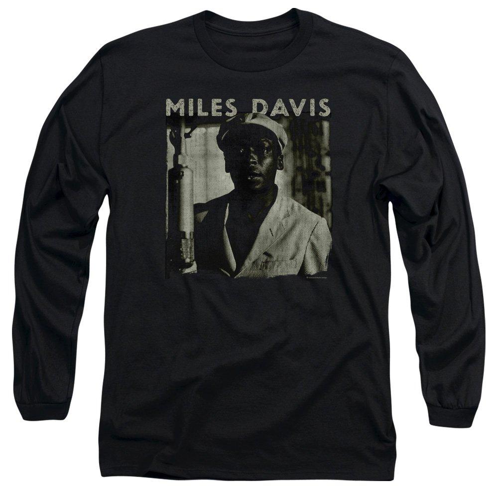 Miles Davis Portrait Adult T Shirt