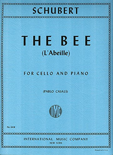 Download SCHUBERT Francois - La Abeja Op.13 nº 9 para Violoncello y Piano (Casals) pdf epub