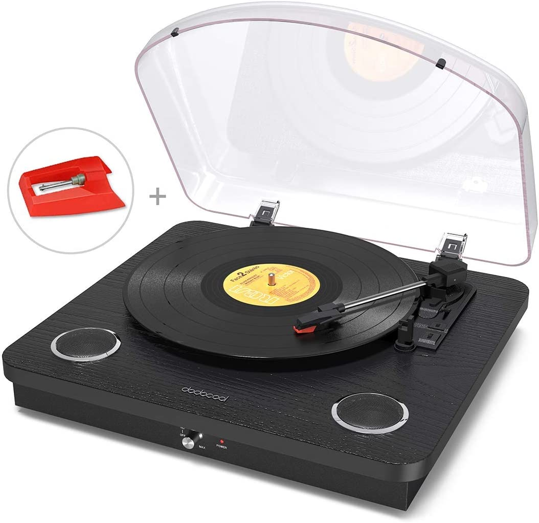 Dodocool 3 Speed Turntable
