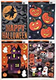 Happy Halloween! Window Clings, 4 Sheets!