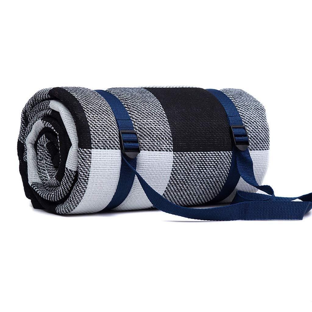 ZKKWLL Picnic Blanket Moistureproof Picnic Blanket Portable Lightweight Waterproof Beach Picnic Blanket Washable Folding Camping Hiking Picnic mat (Color : A) by ZKKWLL