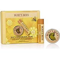 Burt's Bees Set Hidratante De Regalo Moisture Duo 100 % Natural De Burt'S Bees Compuesto Por Bálsamo Labial De Miel (4…
