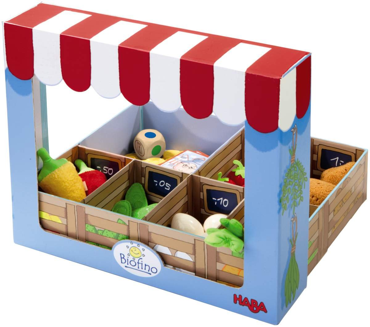Kaufladen klappbar -HABA Biofino Möhrenglück
