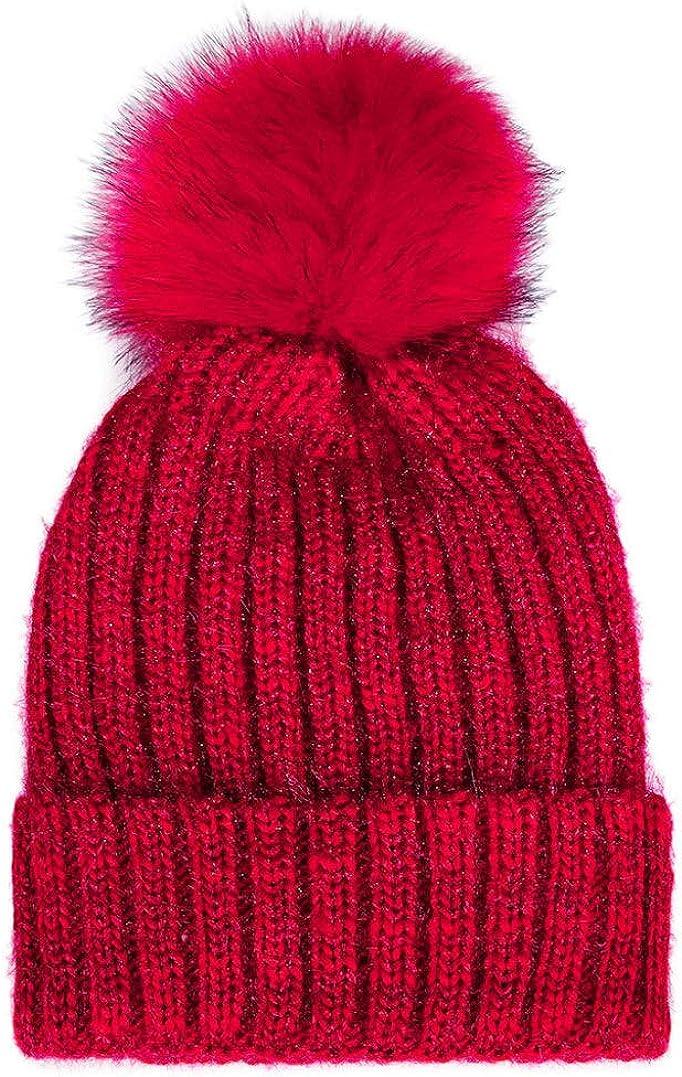 Women's Hairy Hats Winter...