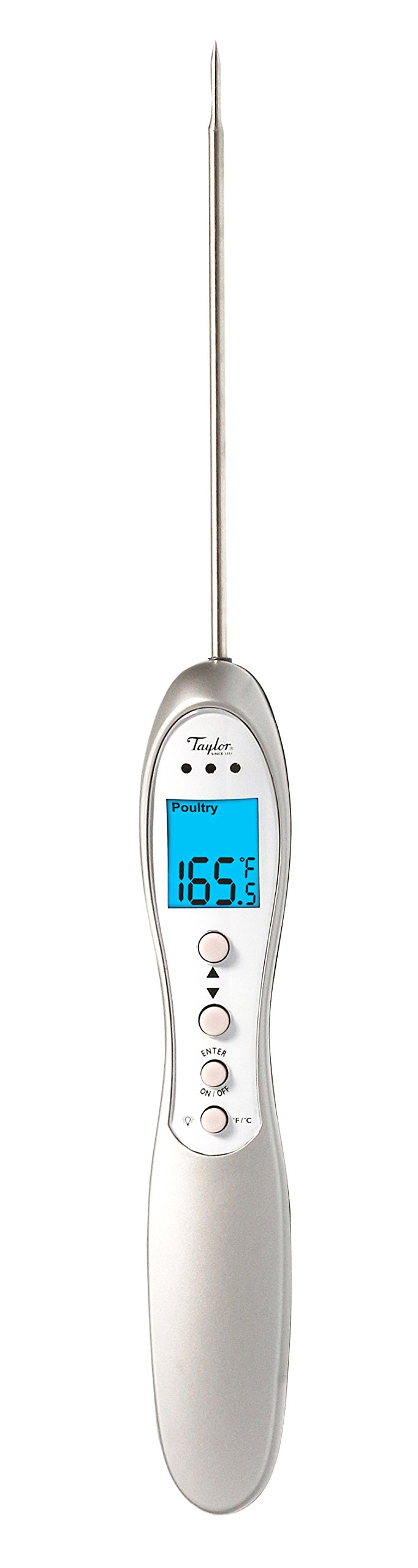 Taylor Precision Products Connoisseur Digital Folding Probe Thermometer by Taylor Precision Products