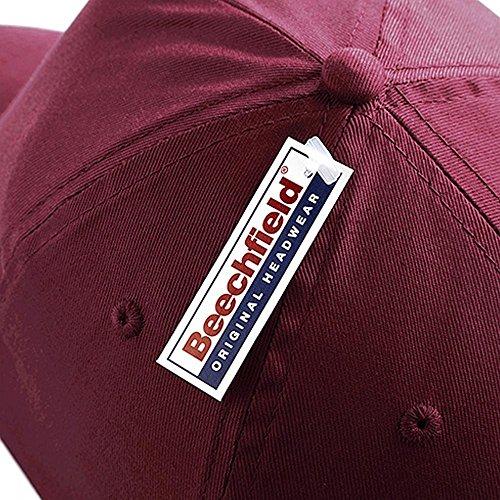 Twill cotone 5 BEECHFIELD Baseball in firmato cappellino Cappello pannelli ESY6WnpSq