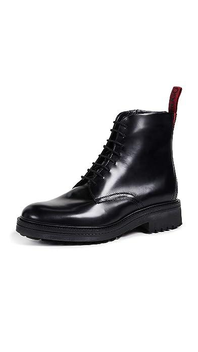 buy online b8a5a e1ffd BOSS Hugo Impact_Halb_BO Boots Schuhe 10 M US Herren: Amazon ...