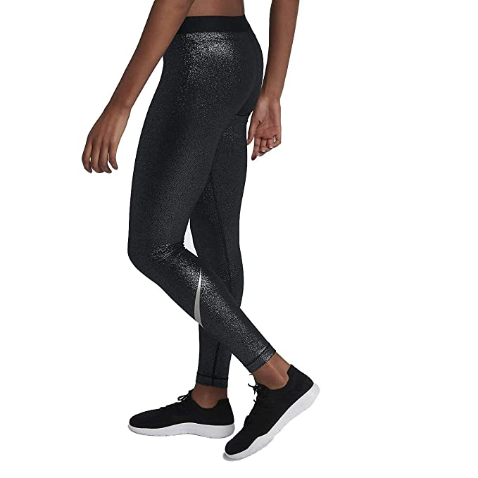 a9ef88698b693 Nike Women's Pro Cool Sparkle Training Tight Pants at Amazon Women's  Clothing store: