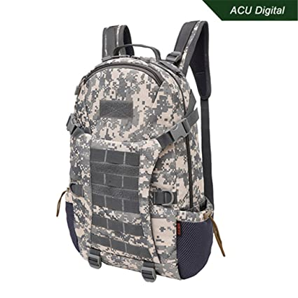 Amazon.com : Tactical Backpack Camouflage Hunting Molle Back ...