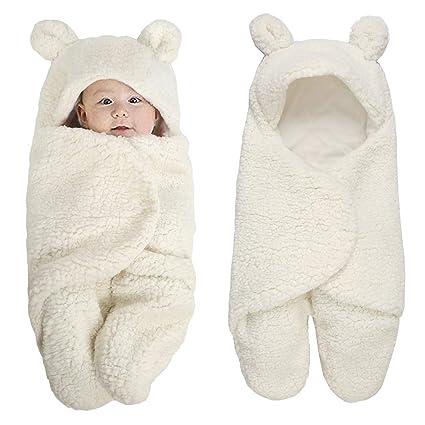 guoyy recién nacido Baby techo Swaddle Wrap universal algodón ...