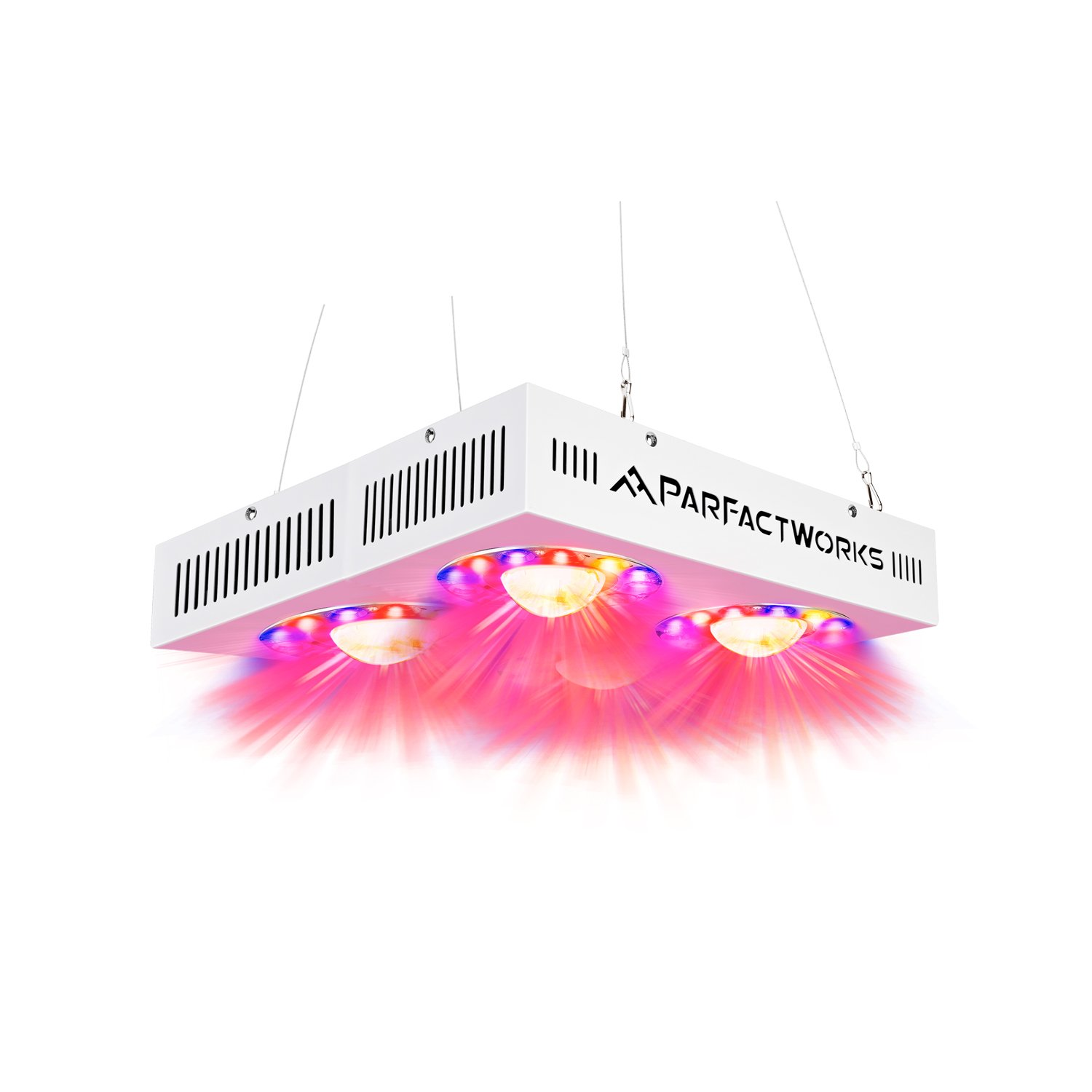 PARFACTWORKS 1000W LED Grow Light, COB Full Spectrum Including UV&IR, Led Vegetable Grow Light for Greenhouse Hydroponic Indoor Gardens All Plant Grow Phases by PARFACTWORKS