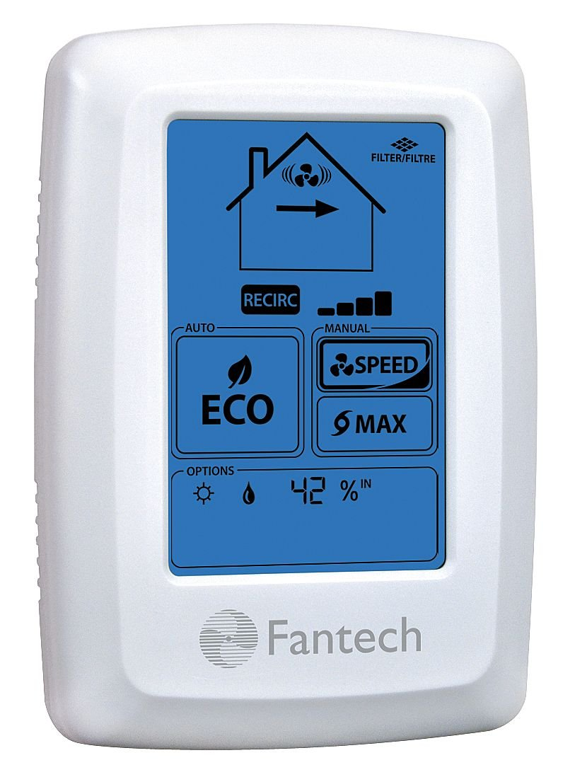 Heat recovery ventilator ebay - Fantech Eco Touch Electronic Programmable Wall Control Manual Or Automatic Eco Operation Mode Industrial Hvac Components Amazon Com Industrial