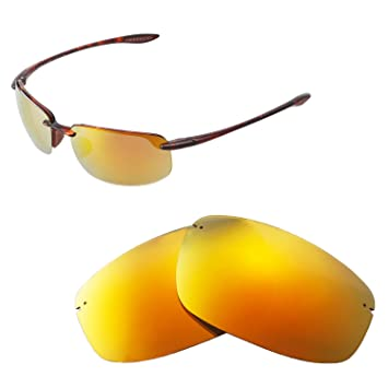 1fb623f7d3106 Walleva Replacement Lenses for Maui Jim Ho okipa Sunglasses - Multiple  Options Available (24K