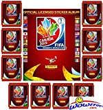 2015 Panini FIFA Women's World Cup Soccer Canada Special Sticker Collectors Package! Features 10 Factory Sealed Packs PLUS 56 Page World Cup Sticker Album! Includes Total of 80 Brand New Stickers!