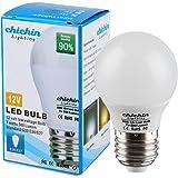 ChiChinLighting Low Voltage 12 Volt 7 Watt LED Light Bulb - E26/E27 Standard Base - Daylight White (Cool White) 6000k 7w Light Bulb – AC DC Compatible- RV, Marine LED Lights