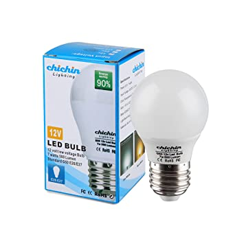 Chichinlighting 12volt Led Bulb E26 E27 Standard Base 12vac 12vdc