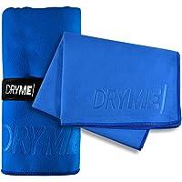 Dryme Toalla de Microfibra Deportiva Ultra Absorbente Secado Rápido Ligera y Portatil para Gym Natación Yoga Playa Diferentes Modelos y Tamaños