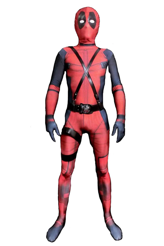 - 61AhC2Fn2CL - Verhero Lycra Halloween Bodysuit Unisex Adult Zentai Kids Costume Spandex Suit