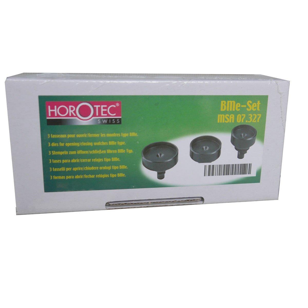 Horotec 3-Set Case Die Opener for Baume & Mercier MSA 07.327