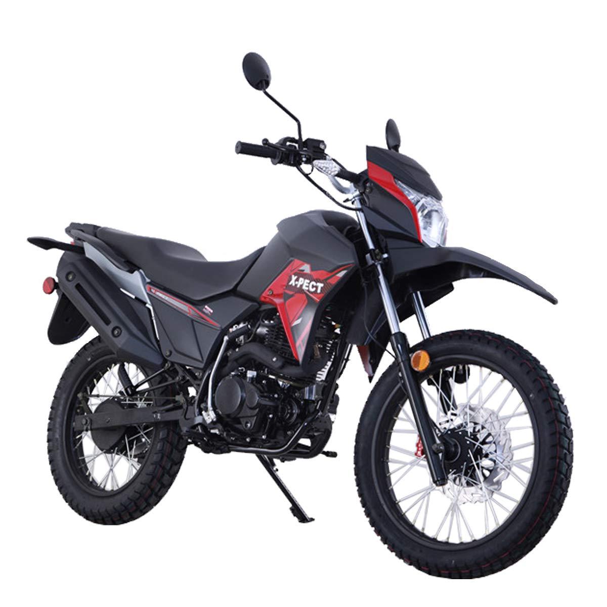 Goggle and Handgrip X-Pro 200cc Motorcycle Bike Adult Dirt Bike 200cc Street Bike Dirt Bikes with Gloves