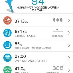 Amazon Co Jp 日本公式ライセンス取得商品 日本語対応 Pmj Iwownfit I6 Hr アップデート対応版 活動量計 スマートブレスレット Iphone Android スマホ対応 24時間自動測定 健康サポート 歩数計 心拍計 睡眠計 有機el Ip67防水防塵 Bluetooth4 0