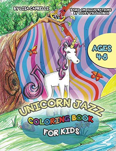 Unicorn Jazz Coloring - Toys Kids Parties Home Christian For