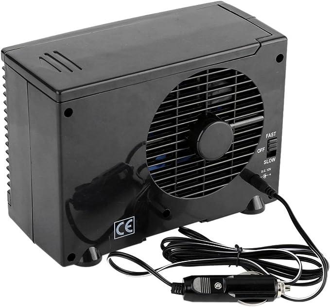 SOULONG 12 V portátil para Coche Ventilador de refrigeración de ...