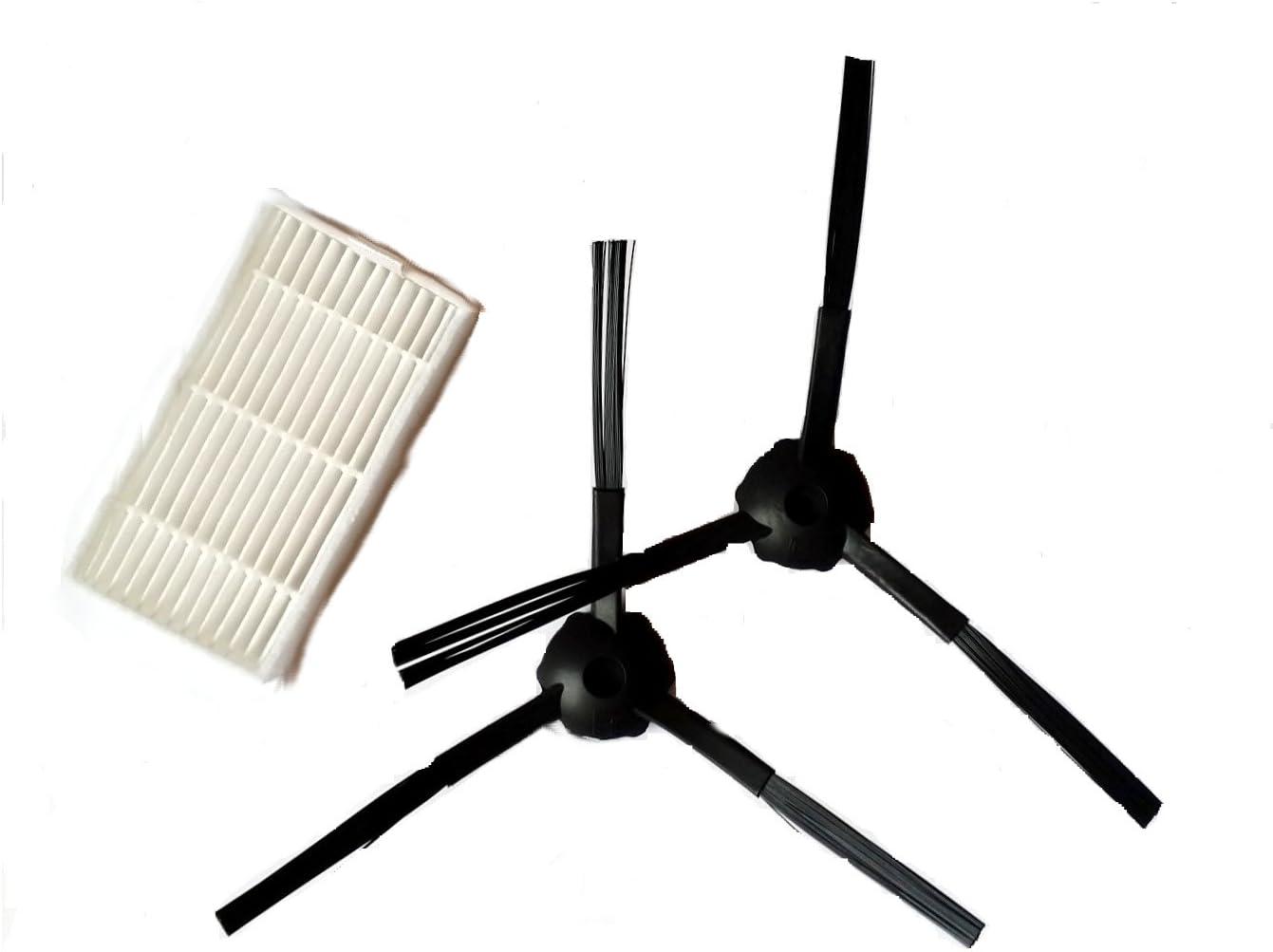 X500-1 par para cepillos & 1 – Filtro hepa para Robot Aspirador Profesional Master Robot 2712 o ariete briciola 2711,2712,2717: Amazon.es: Hogar