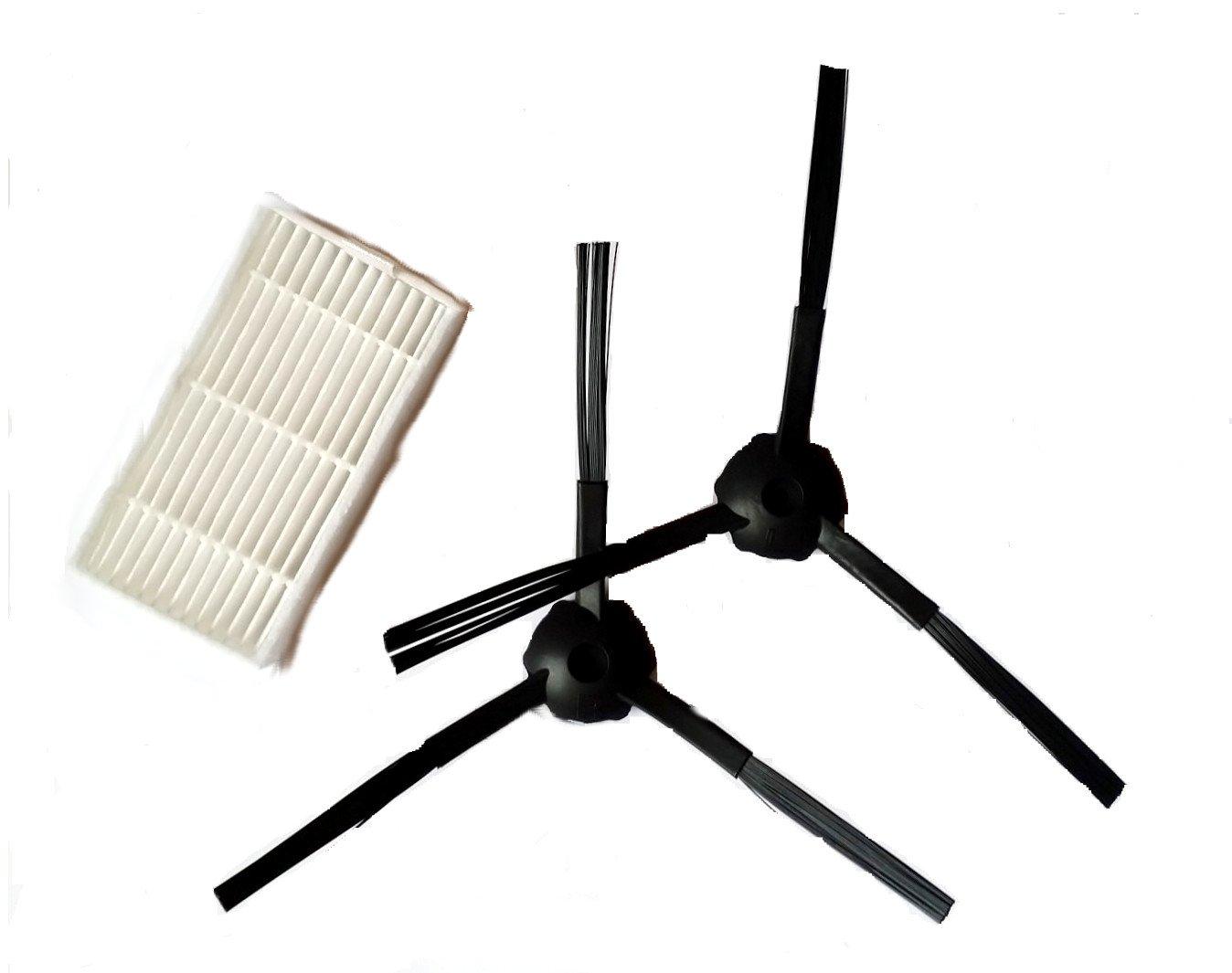 X500-1 par para cepillos & 1 - Filtro hepa para Robot Aspirador ...