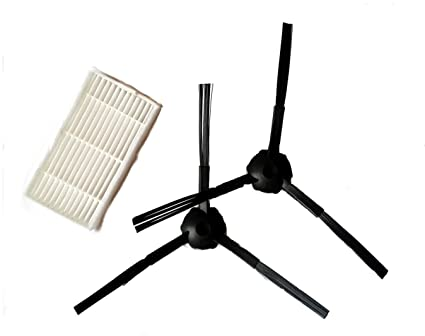 X500-1 par para cepillos & 1 – filtro hepa para robot aspirador profesional master