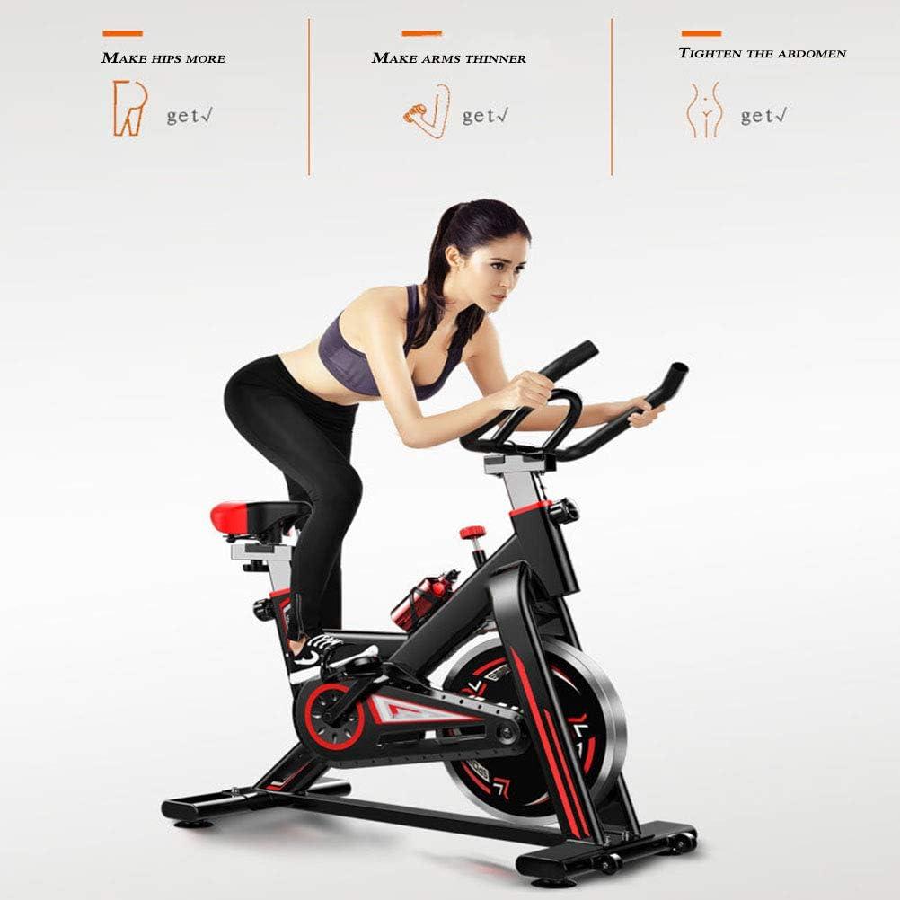 BF-DCGU Bicicleta con la Resistencia Ajustable, Ultra silencioso Bicicleta estática, Cubierta Bicicleta de Ejercicio, Equipo de la Aptitud, hogar para Bajar de Peso.: Amazon.es: Hogar