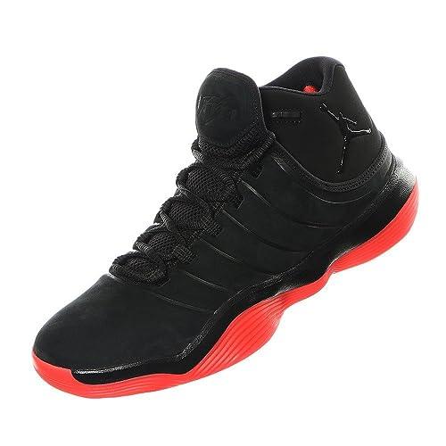 Nike Zapatillas de Baloncesto Jordan Super.Fly 2017 para Hombre, Hombre, O0057DCKUS885177225032, Negro, 44: Amazon.es: Deportes y aire libre
