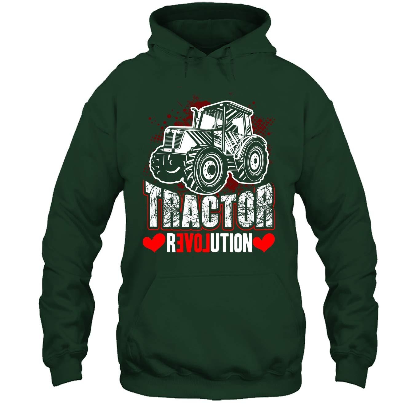 Seewhite Tractor Cool Tshirt Tractor Revolution T Shirt Design