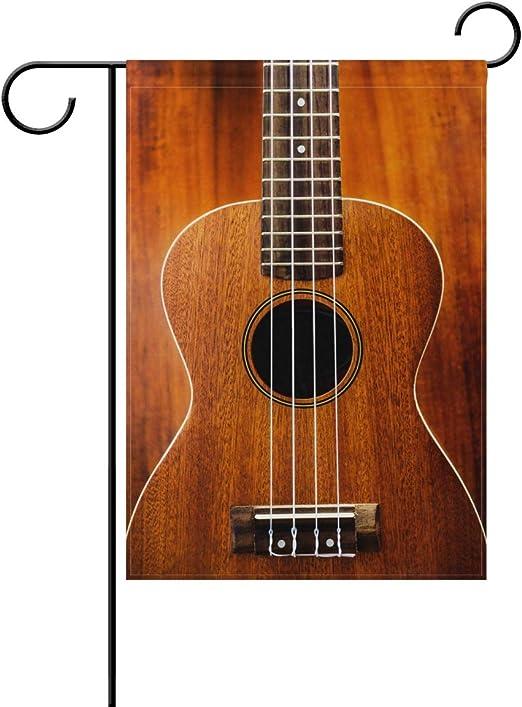 ColourLife Bandera de jardín, Estilo Vintage, para Guitarra ...