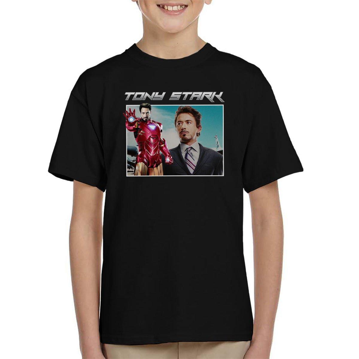 Tony Stark Tribute Montage T Shirt 4887