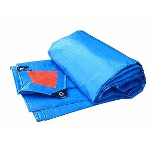 Teloni Tela impermeabilizzante per telone impermeabile di spessore tela cerata esterna copertura per ombrellone per camion copertura per esterni telone da pioggia, spessore 0,35 mm, 160 g / m2, 19 opz