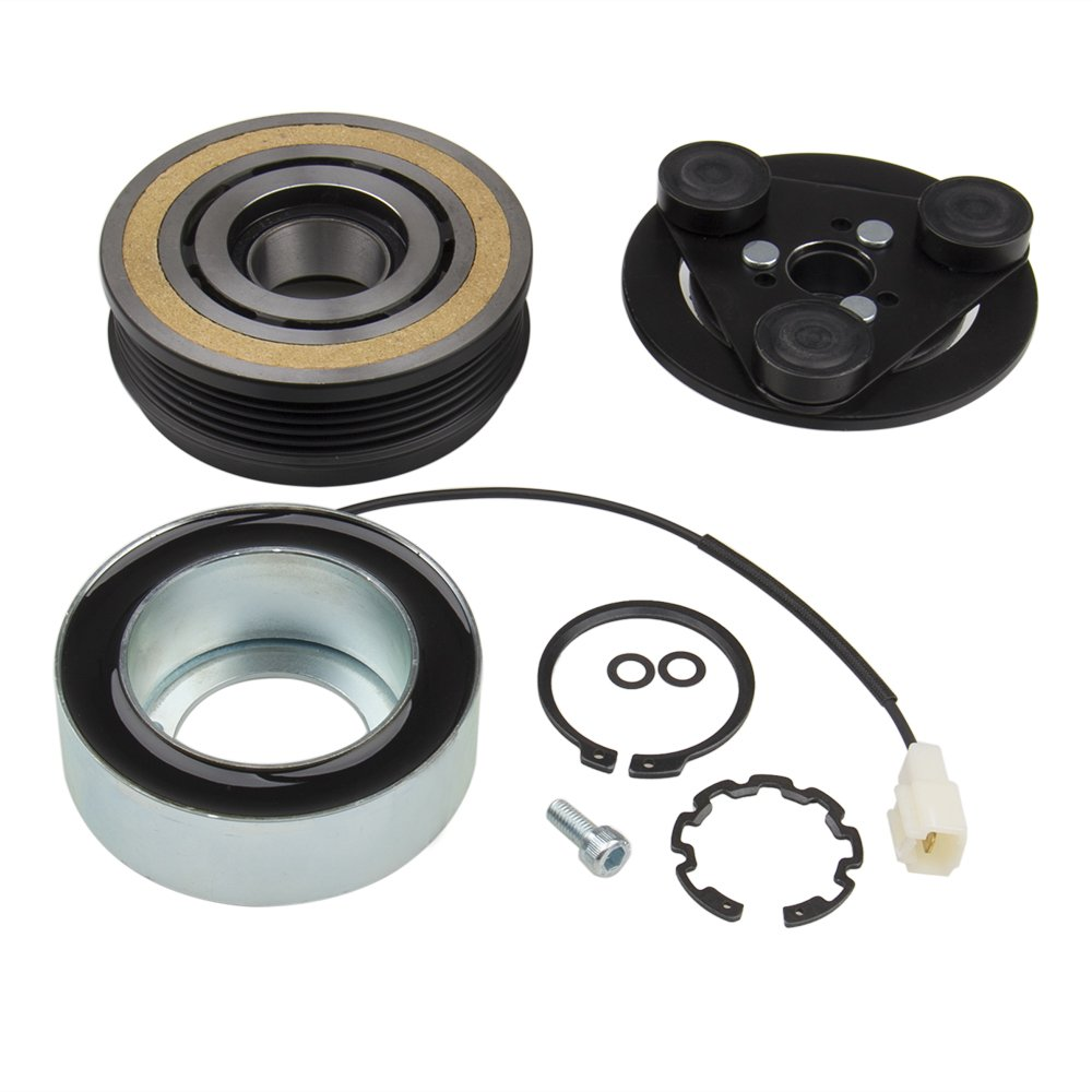 Big-Autoparts A/C AC Compressor Clutch Kit Front Plate Bearing and Coil for MAZDA 3 5 2004-2009