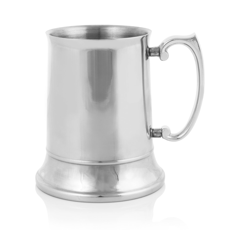Viski Admiral Beer Stein, Silver True Fabrication 3715