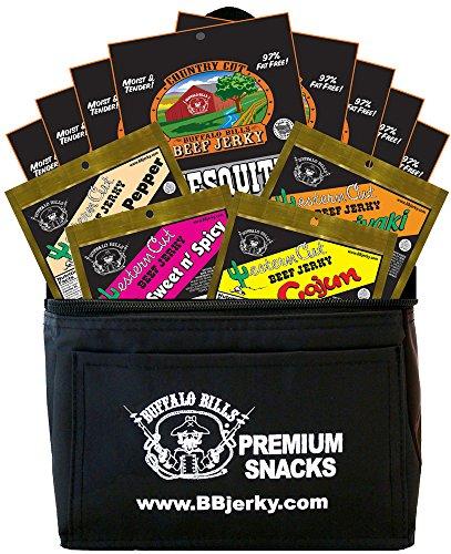 Buffalo-Bills-12-Piece-Beef-Jerky-Sampler-6-Pack-Gift-Cooler-12-assorted-15oz-jerky-packs