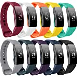 findway Compatible with Fitbit Inspire HR Bands/Fitbit Inspire Band, Adjustable Soft Silicone Inspire Straps for Women Men Sports Replacement Accessories Bands for Inspire/Inspire HR Fitness Tracker