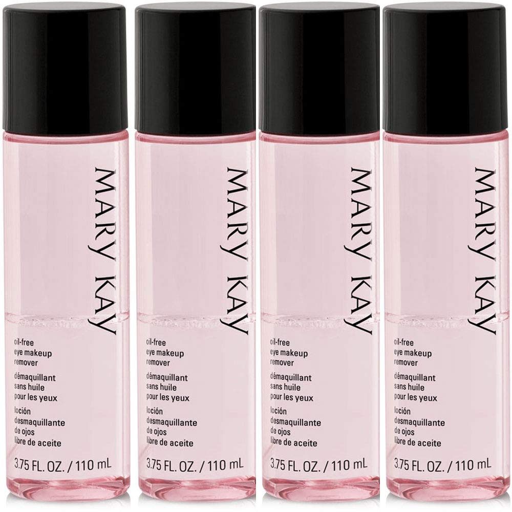 Mary Kay Oil-Free Eye Makeup Remover 3.75 fl. oz - 4 Pack