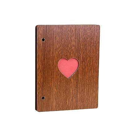 Amazon Toymytoy 6inch Wooden Scrapbook Album Diy Heart Hollow