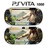 Decorative Video Game Skin Decal Cover Sticker for Sony PlayStation PS Vita (PCH-1000) - Uncharted Golden Abyss