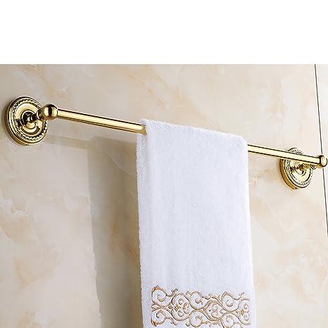 Toallero de barra para toallas, estante de accesorios de baño