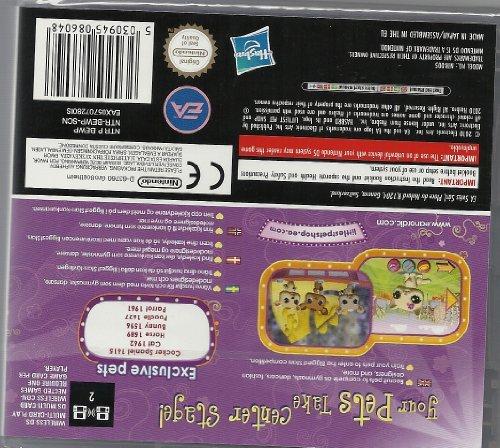 Littlest Pet Shop 3 Biggest Stars Purple Team Game DS