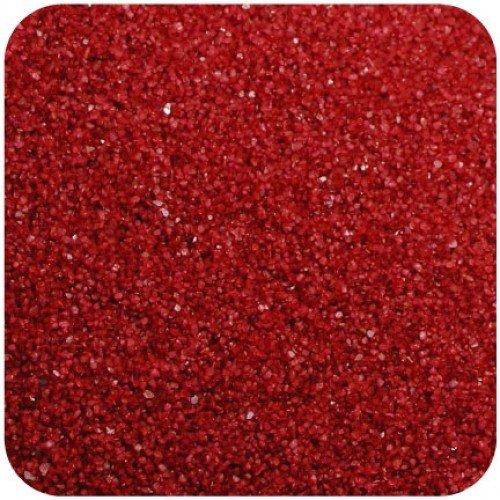 Sandtastik FL0229 Floral Colored Sand 2 lbs. Bag - Dark Red