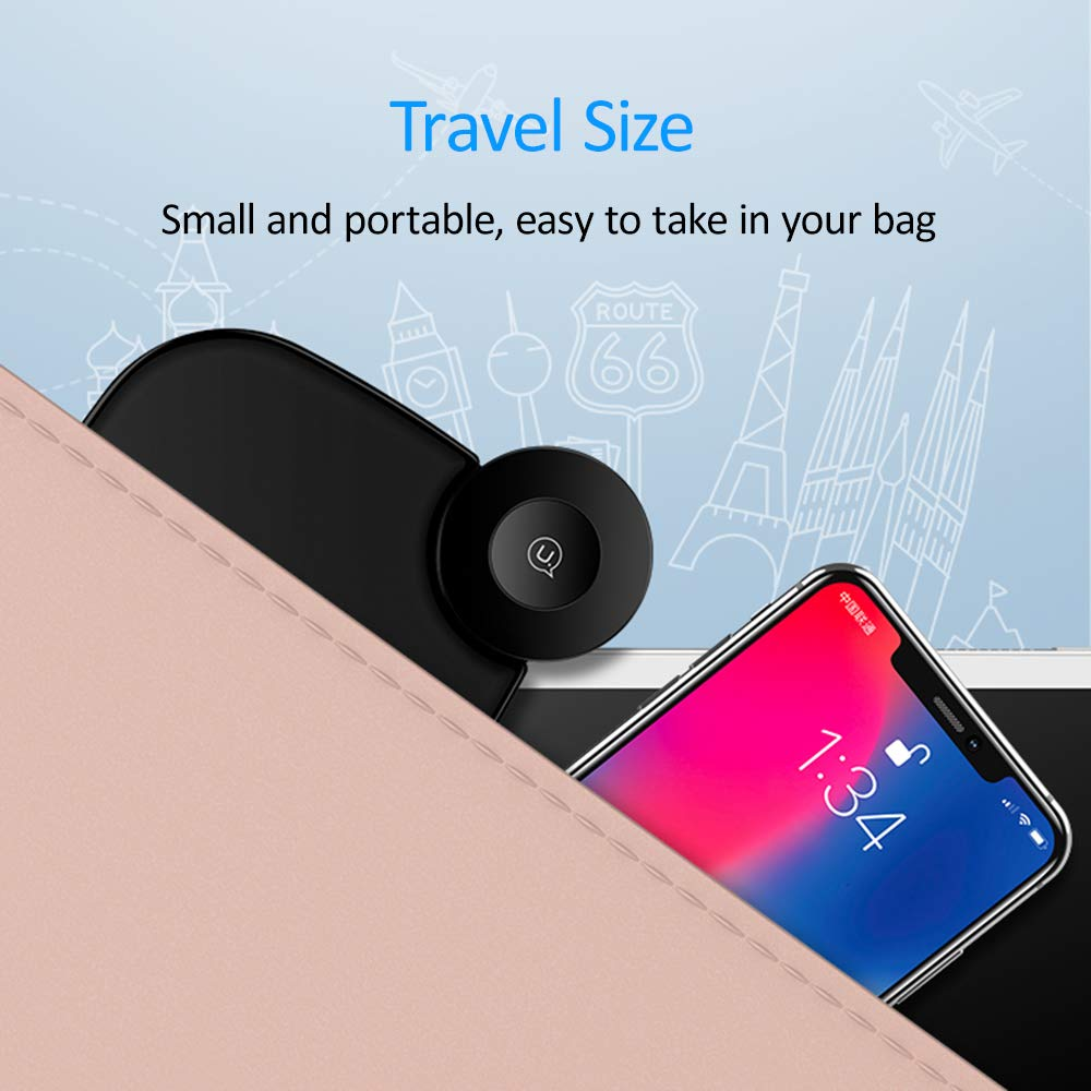 Cargador Inal/ámbrico Coche,10W Carga R/ápida Cargadores Inalambricos Magn/ético Soporte M/óvil Rejilla de Ventilaci/ón para Samsung Galaxy Note 9 8 5//S9//S8//S8 //S7//S6 Edge,iPhone XS Max XR X//8//8 Plus